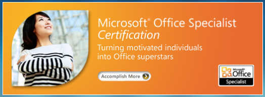 MOS Certification Banner