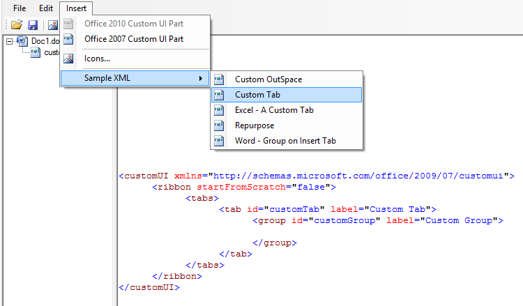 how to create a nodelist in xml