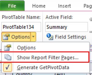 Single_Pivot_Report_II