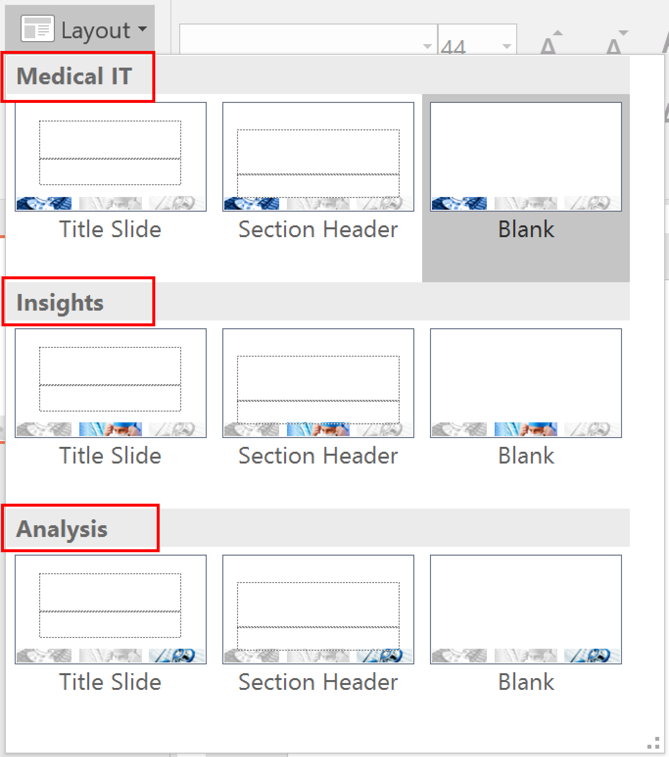 remove layout slides in powerpoint   the office corner, Presentation templates